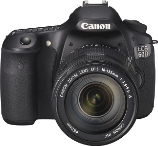 Canon EOS 60D 18.0-Megapixel Digital SLR Camera - Black