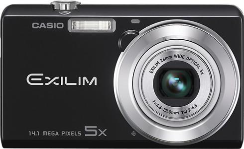 Casio EX-ZS10 14.1-Megapixel Digital Camera - Black