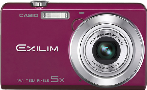 Casio Exilim 14.1-Megapixel Digital Camera - Red