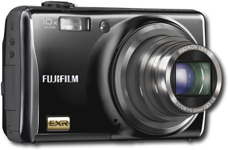 FUJIFILM FinePix 12.0-Megapixel Digital Camera - Black