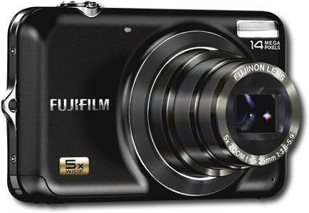 FUJIFILM FinePix 14.0-Megapixel Digital Camera - Black