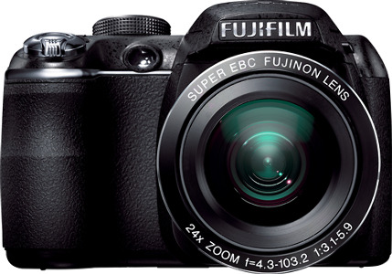 FUJIFILM FinePix S3200 14.0-Megapixel DSLR Camera - Black