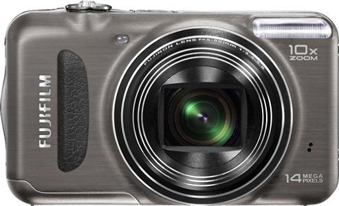 FUJIFILM FinePix T200 14.0-Megapixel Digital Camera - Gunmetal