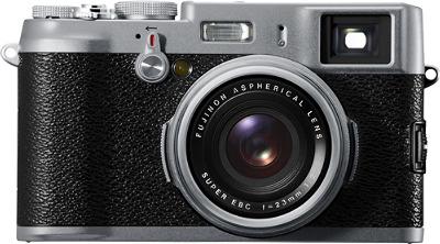 FUJIFILM FinePix X100 12.3-Megapixel Digital Camera - Black