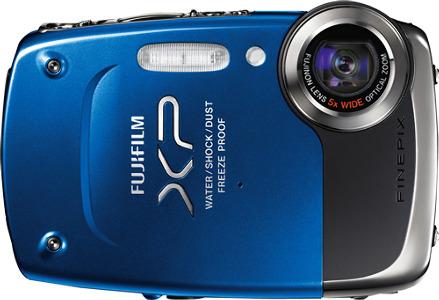 FUJIFILM FinePix XP20 14.2-Megapixel Digital Camera - Blue