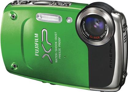 FUJIFILM FinePix XP20 14.2-Megapixel Digital Camera - Green