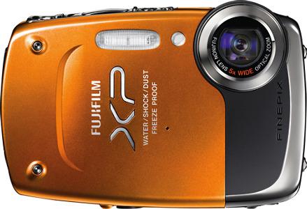 FUJIFILM FinePix XP20 14.2-Megapixel Digital Camera - Orange