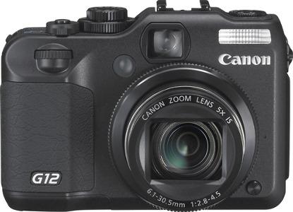 Canon PowerShot G12 10.0-Megapixel Digital Camera - Black