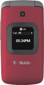 LG GS170 Mobile Phone - Red