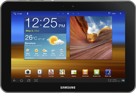 Samsung Galaxy Tab 8.9 with 32GB Memory - Metallic Gray