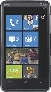 HTC HD7S Mobile Phone - Black