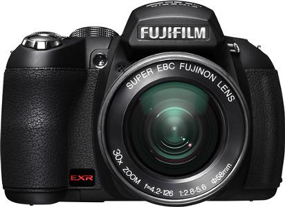 FUJIFILM FinePix HS20EXR 16.0-Megapixel Digital Camera - Black