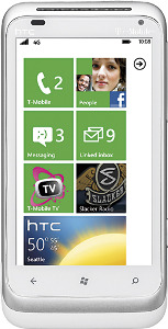 HTC Radar 4G Mobile Phone - White/Silver
