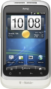 HTC Wildfire S Mobile Phone - White