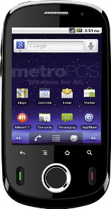 MetroPCS Huawei M835 No-Contract Mobile Phone - Black