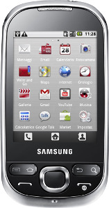 Samsung Galaxy 5 Mobile Phone (Unlocked) - Black