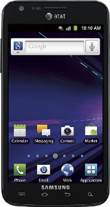 Samsung Galaxy S II Skyrocket 4G Mobile Phone - Black