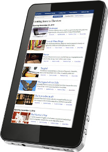 Sungale Beam Tablet with 2GB Memory - Black