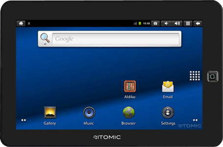 Itomic Tablet with 4GB Memory - Black