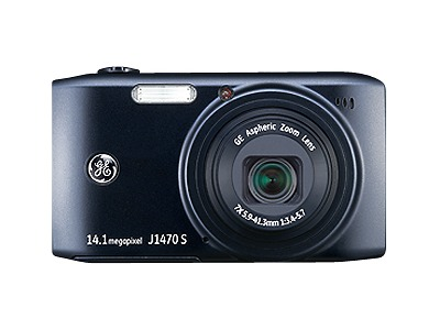 GE J1470S 14.1-Megapixel Digital Camera - Black