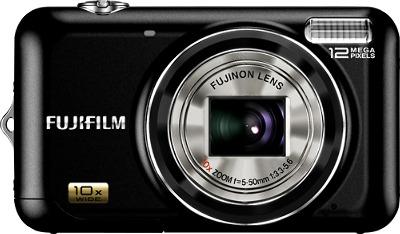 FUJIFILM FinePix JZ300 12.0-Megapixel Digital Camera - Black