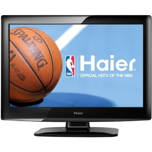 "Haier L19B1120 19"" LCD TV - 16:9 - HDTV - 720p - Black"