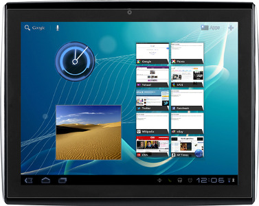 Le Pan II Tablet with 8GB Memory - Black/Silver