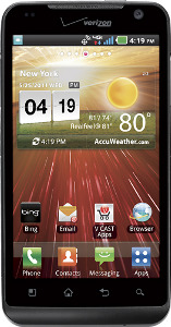 LG Revolution Mobile Phone - Black