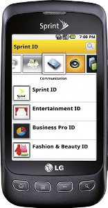 LG Optimus S Mobile Phone - Charcoal