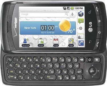 LG Ally Mobile Phone - Black