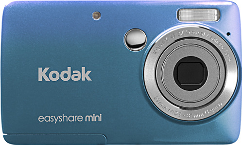 Kodak EasyShare M200 Mini 10.0-Megapixel Digital Camera - Blue