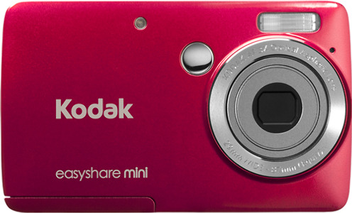 Kodak EasyShare M200 Mini 10.0-Megapixel Digital Camera - Red