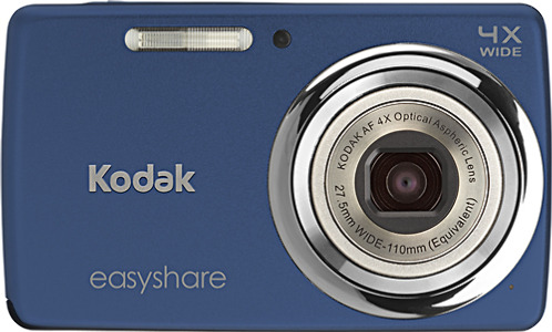 Kodak EasyShare M532 14.0-Megapixel Digital Camera - Blue
