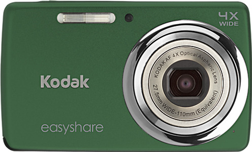 Kodak EasyShare M532 14.0-Megapixel Digital Camera - Dark Green