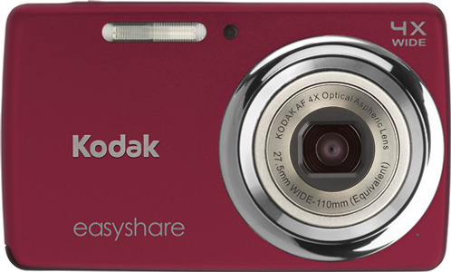 Kodak EasyShare M532 14.0-Megapixel Digital Camera - Red