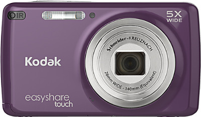 Kodak EasyShare M577 Touch 14.0-Megapixel Digital Camera - Purple