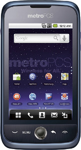 MetroPCS Huawei Ascend M860 No-Contract Mobile Phone - Metallic Dark Blue