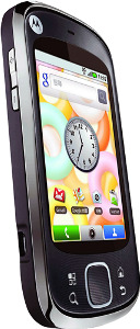 Motorola Cliq Mobile Phone (Unlocked) - Black