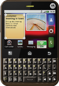 Motorola Charm Mobile Phone (Unlocked) - Black
