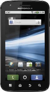 Motorola Atrix 4G Mobile Phone - Black