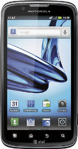 Motorola Atrix 2 4G Mobile Phone - Black