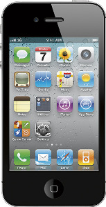 Appleå¨ iPhoneå¨ 4 with 16GB Memory Mobile Phone - Black