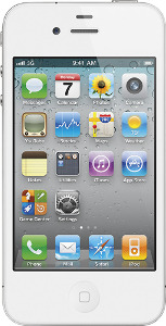Appleå¨ iPhoneå¨ 4 with 16GB Memory Mobile Phone - White