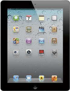 Appleå¨ iPadå¨ 2 with Wi-Fi - 64GB - Black