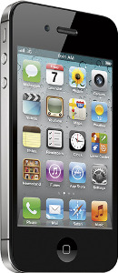 Appleå¨ iPhoneå¨ 4S with 16GB Memory Mobile Phone - Black