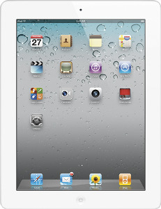 Appleå¨ iPadå¨ 2 with Wi-Fi - 32GB - White