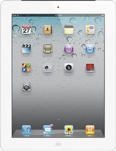 Appleå¨ iPadå¨ 2 with Wi-Fi + 3G - 64GB (Verizon Wireless) - White