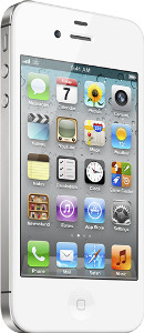 Appleå¨ iPhoneå¨ 4S with 64GB Memory Mobile Phone - White