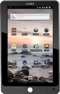 Coby Refurbished Tablet with Capacitive Touch Screen - Black