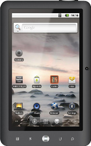Coby Kyros Tablet with 512MB Memory - Black